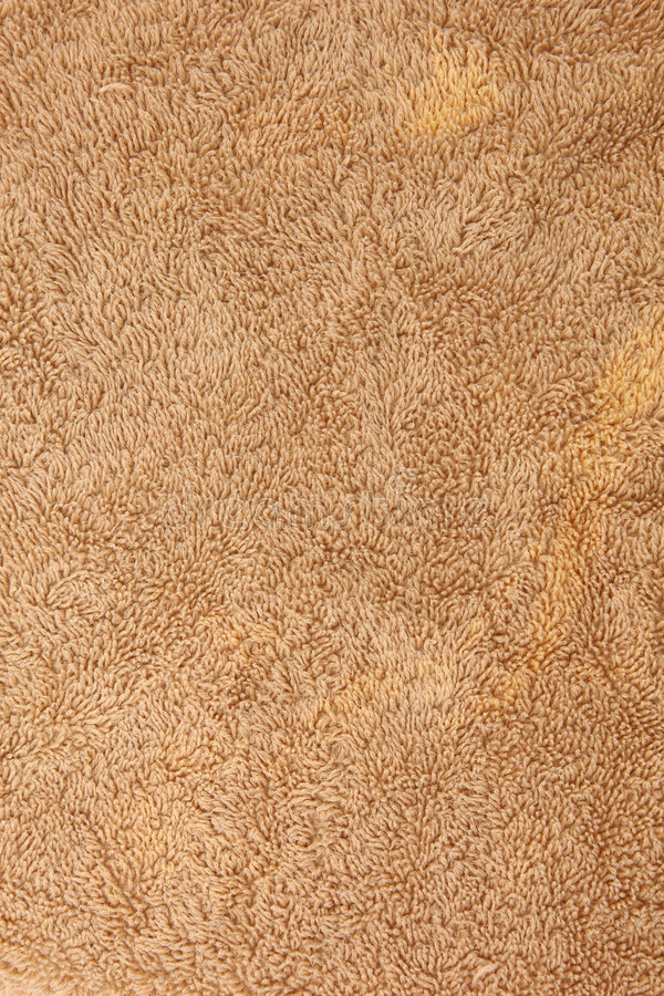 Brown Cotten Towel Texture Royalty Free Stock Photos