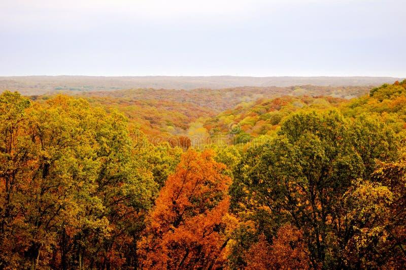 Brown County Nationalpark lizenzfreies stockbild