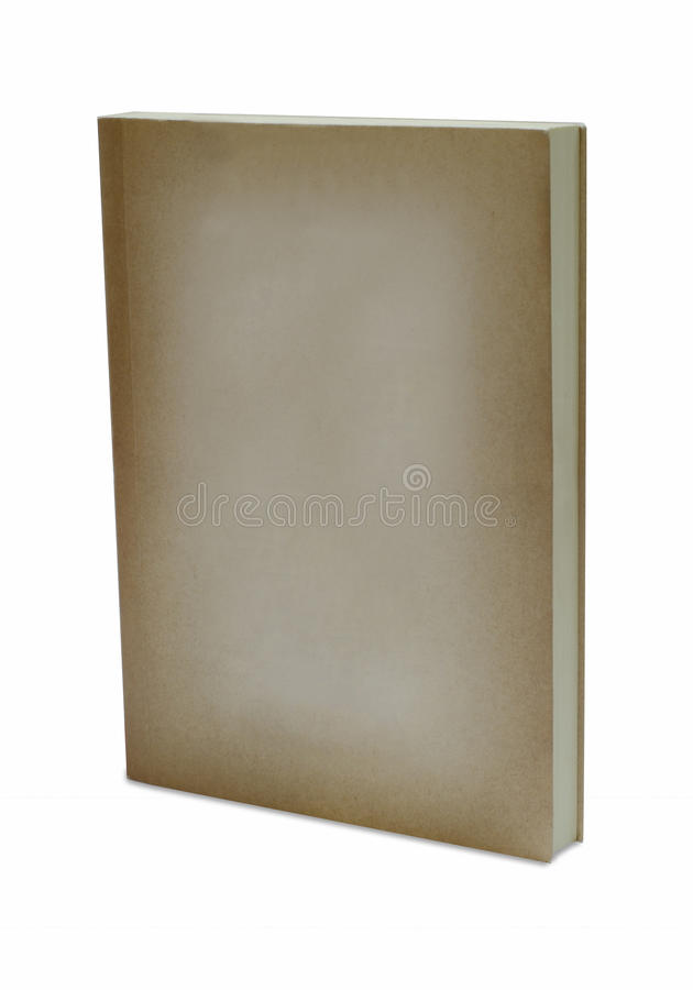 Download Brown cover book isolated stock photo. Image of book - 22246962