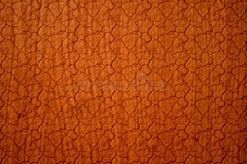 Leather Texture. Brown leather texture, cracked earth like royalty free stock images