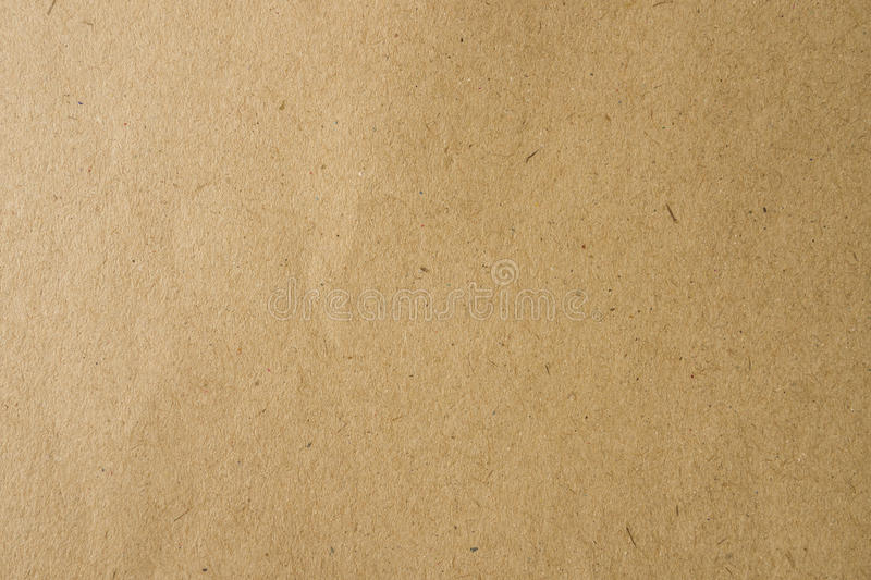 Brown craft paper for background stock images