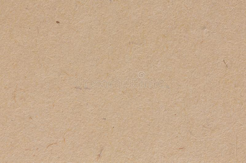 Brown craft paper texture in extremely high resolution. royalty free stock photography