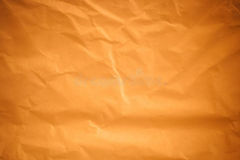 Brown crumpled paper background. Brown crumpled paper a background royalty free illustration
