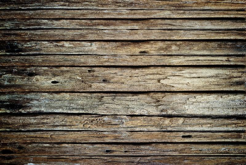 Brown Dark Wood Grunge And Rotten Texture For Background