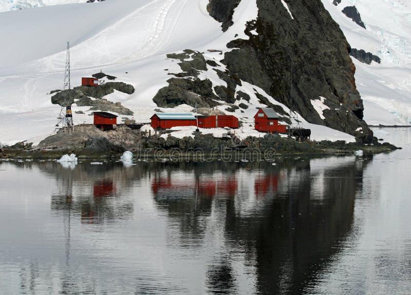 Brown de base Antarctique photos stock