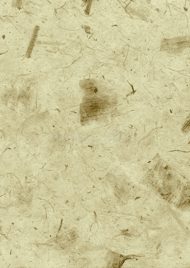 Brown Deckle Edged Natural Wallpaper, Paper, Texture, Abstract, royalty free stock image