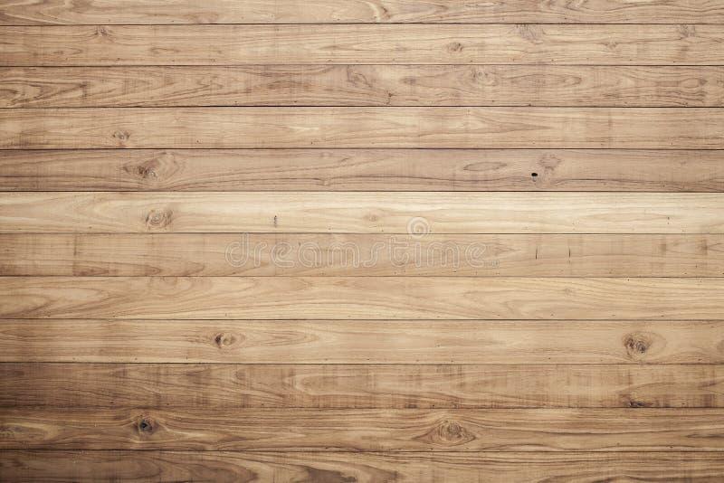 Brown deski drewniana ściana obrazy royalty free