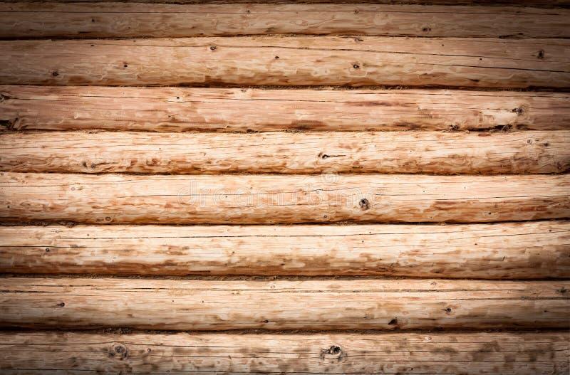 Brown di legno registra il fondo di struttura immagini stock libere da diritti