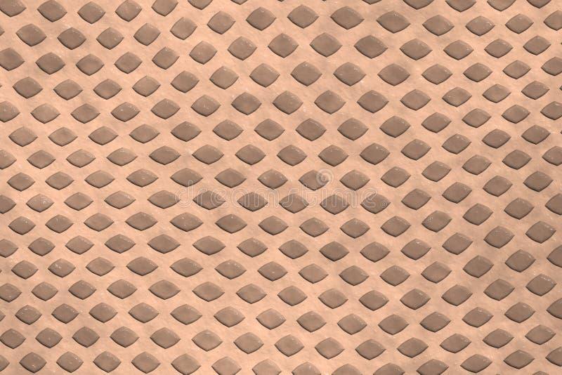 Brown-Diamantform-Wandhintergrund vektor abbildung