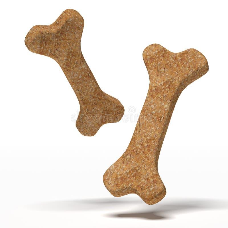 Download Brown dog biscuit stock illustration. Illustration of snack - 33249307