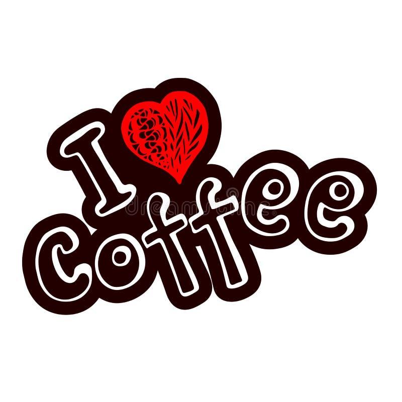 Brown a donné au fond une consistance rugueuse avec des grains de café illustration de vecteur