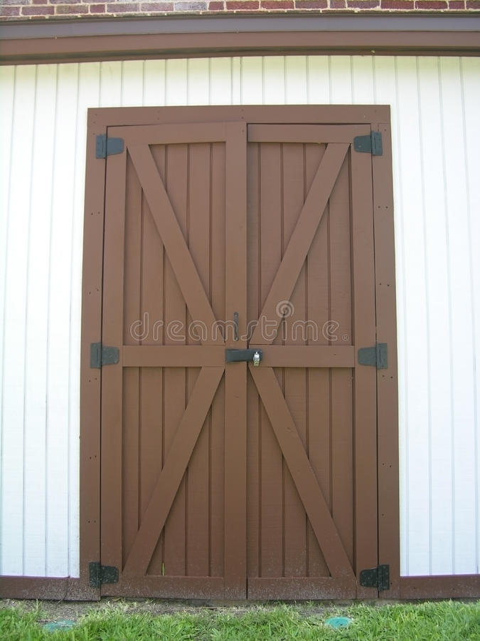 Download Brown door stock image. Image of building, architecture - 11989047