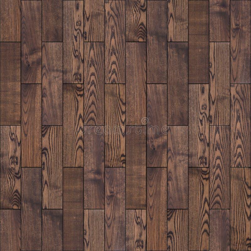 Brown Drewniana Parkietowa podłoga. Bezszwowa tekstura. obrazy royalty free