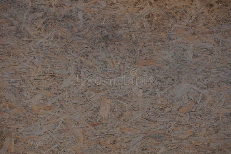 Brown drewniana tekstura od kawałka trocinowa dykty deska obrazy royalty free