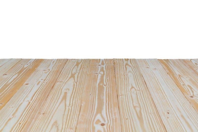 Brown drewniana tekstura z naturalnym pasiastym wzorem dla tła ja zdjęcia royalty free