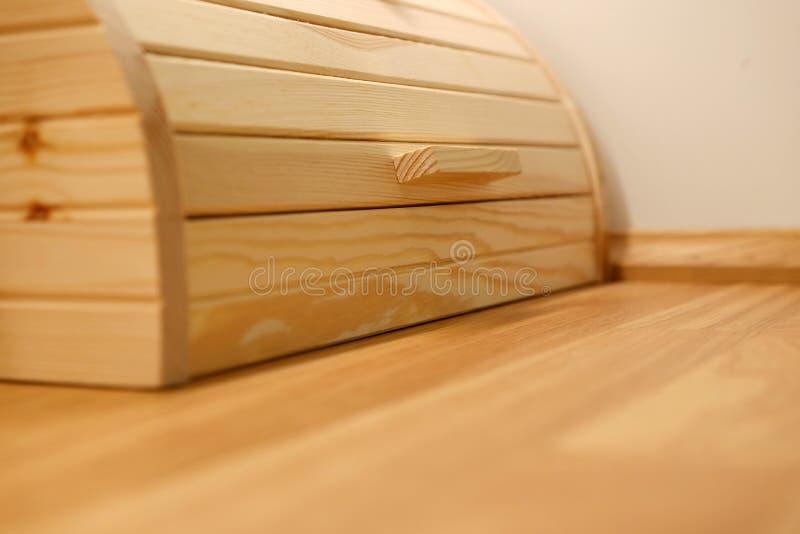 Brown drewniany nawierzchniowy zakończenie horyzontalny widok od above zdjęcia royalty free