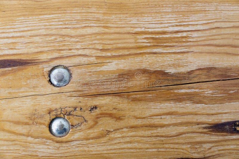 Brown drewniany t?o z dwa ryglami, paskuje i sup?a Drewniana tekstura zdjęcie royalty free