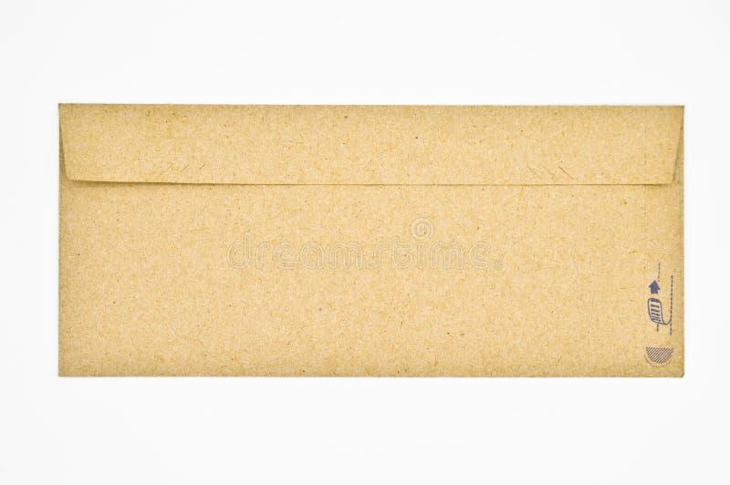 Brown e buste beige usati per corrispondenza commerciale fotografia stock libera da diritti