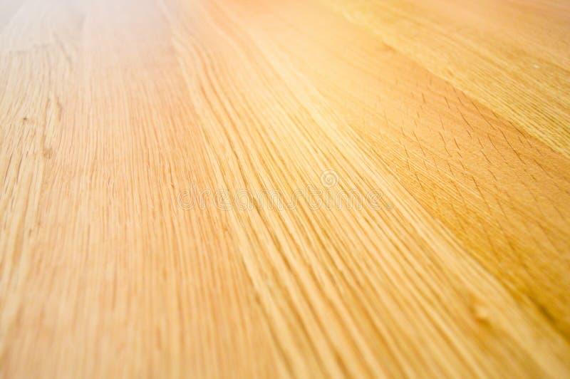 Brown e superficie beige di struttura di legno di quercia Costruzione, grano immagine stock libera da diritti