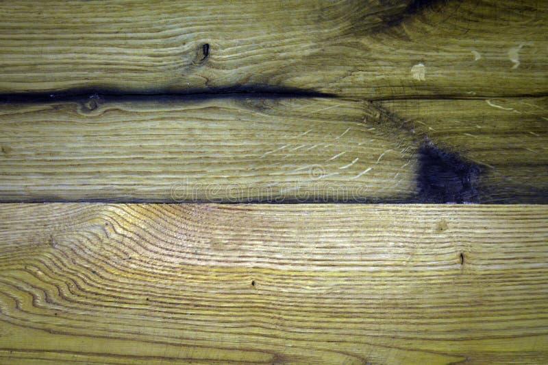 Brown e superficie beige di struttura di legno di quercia immagini stock