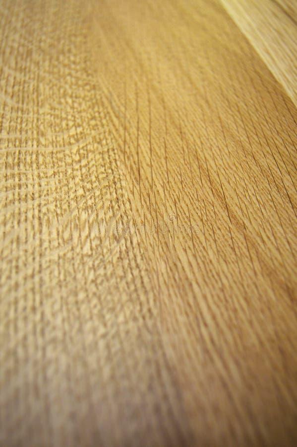 Brown e superficie beige di struttura di legno di quercia parch? Costruzione, grano fotografie stock