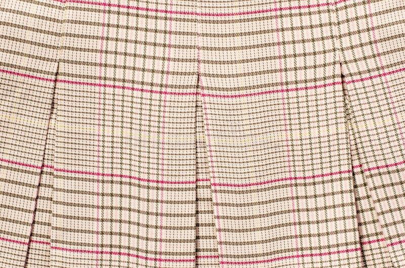 Brown e teste padrão cor-de-rosa do guncheck imagens de stock