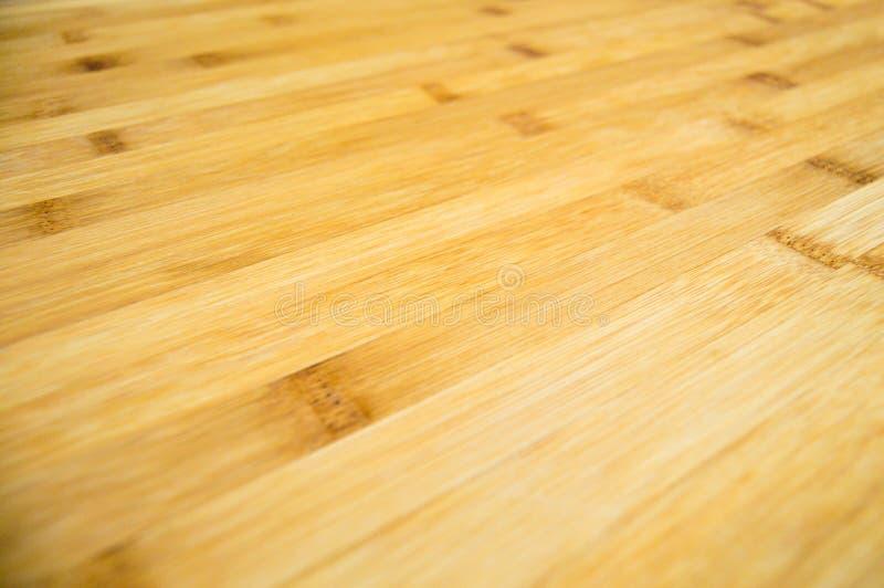Brown e textura de madeira de bambu bege, placa de corte foto de stock