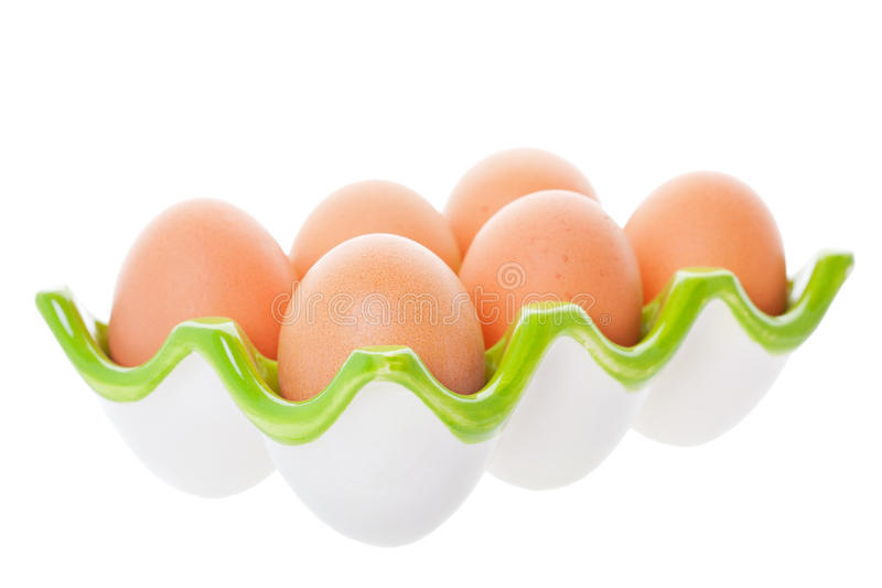 Download Brown Eggs stock photo. Image of half, isolated, nutrition - 19787676