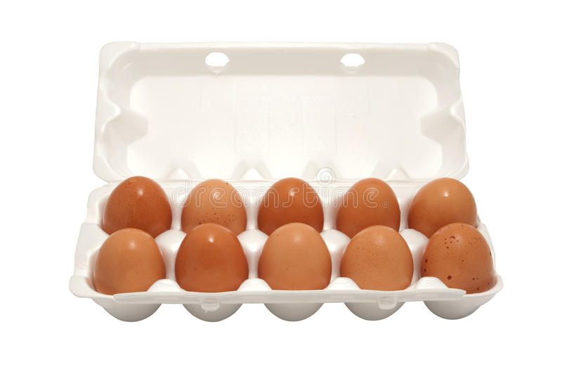 Download Brown eggs in packing stock photo. Image of second, spotty - 21053568