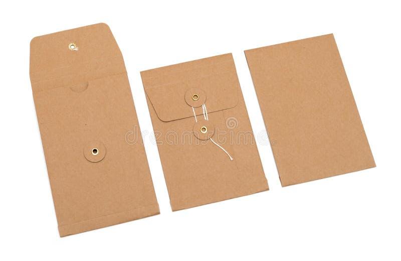 Brown envelope royalty free stock image
