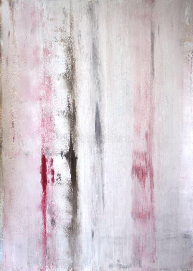 Brown et Art Painting abstrait beige illustration libre de droits