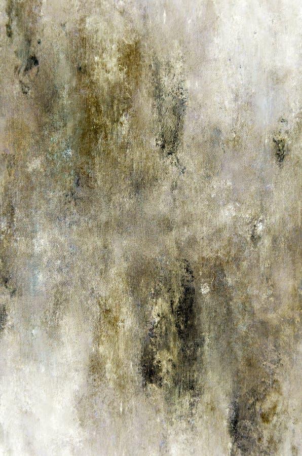 Brown et Art Painting abstrait beige photos stock