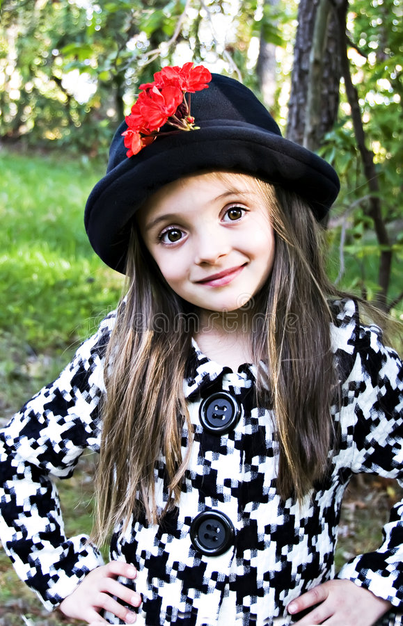 Brown Eyed a la muchacha imágenes de archivo libres de regalías