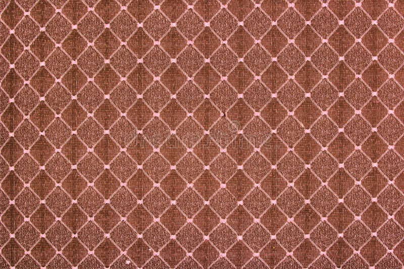Brown Fabric Texture Stock Photography