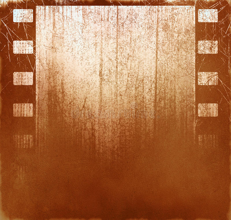Brown film background