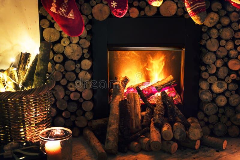 Brown Beside Fireplace Near Brown Wicker Basket Free Public Domain Cc0 Image