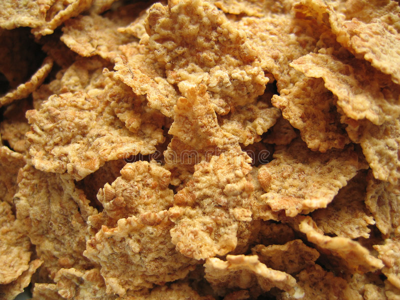 Brown Flakes stock images