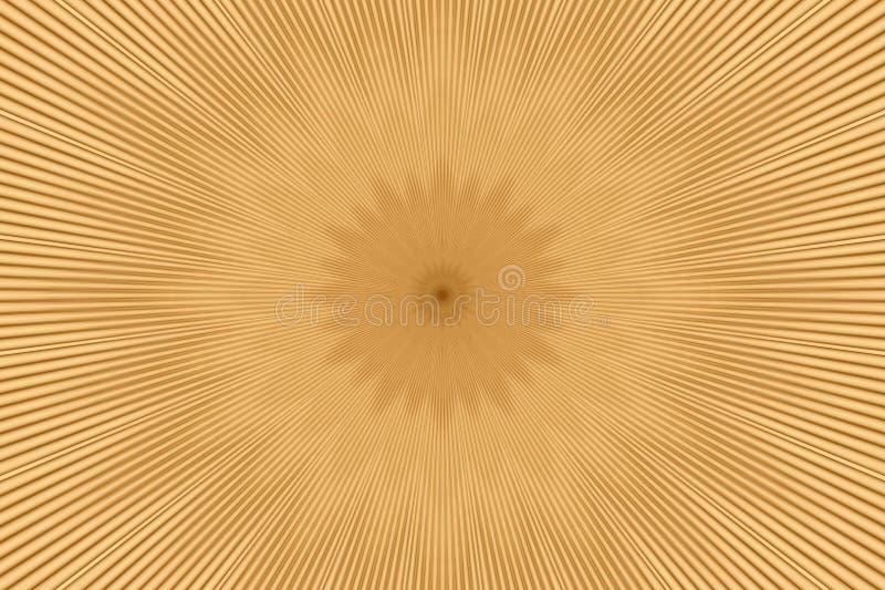 Brown flower pattern floral kaleidoscope. illusion beam vector illustration