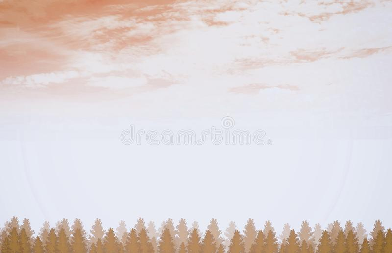Brown Forest Background royalty free stock photos