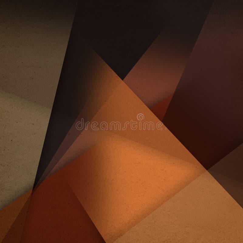 Brown forma el fondo de Grunge fotos de archivo