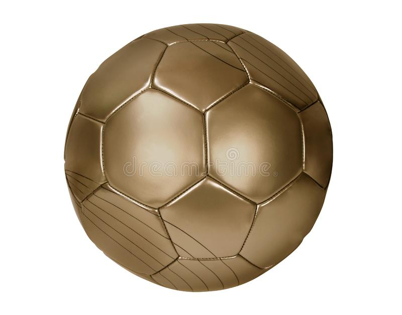 Brown futbol fotografia royalty free