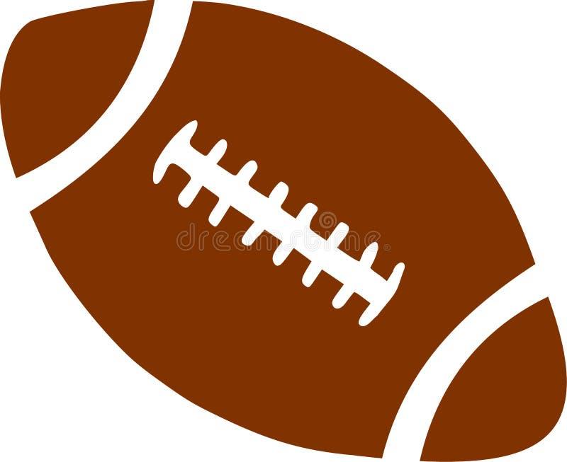 Brown futbol ilustracja wektor