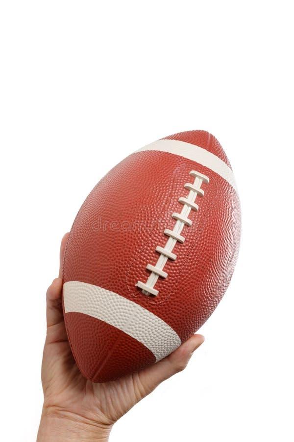 Brown futbol amerykański zdjęcia royalty free