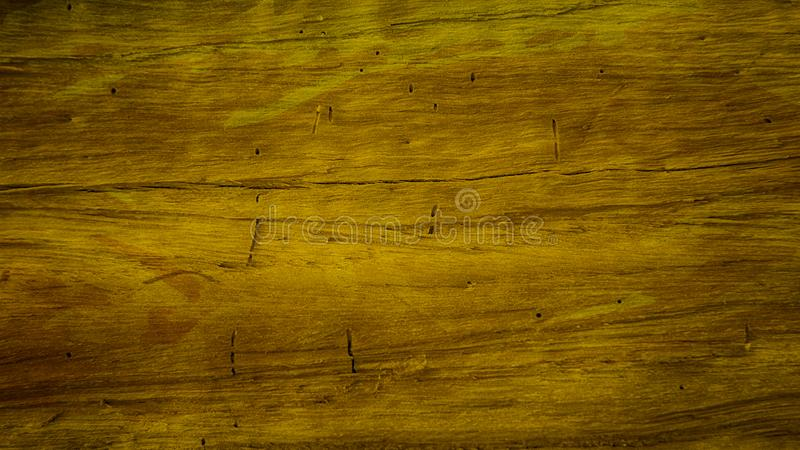 Brown and Gold Wood Background 向量例证