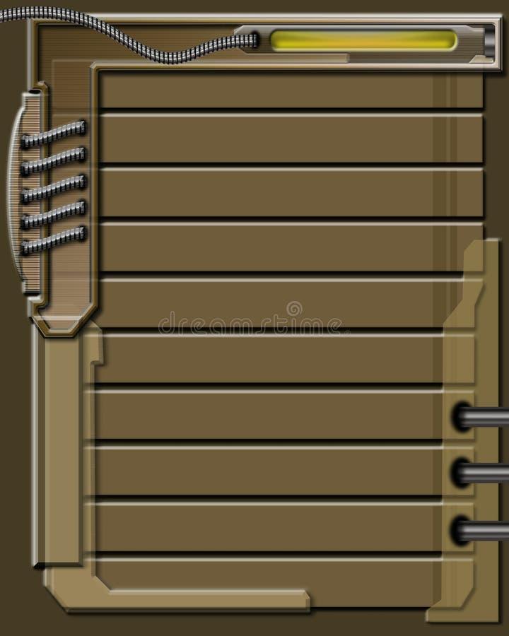 Brown Graficznego Tło Obrazy Stock