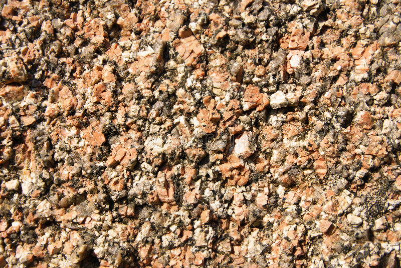Brown gravel textures. Image with brown gravel in a sunny day, useul for textures or bakcgrounds stock image