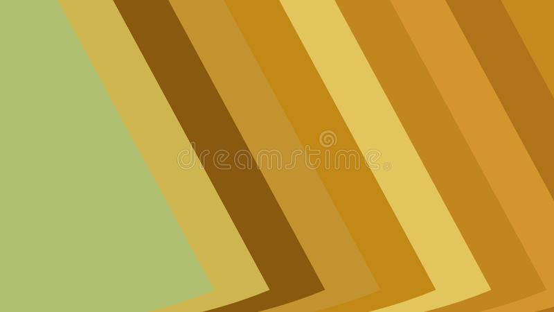 Brown and Green Arrow Background Vector Illustration vector illustration