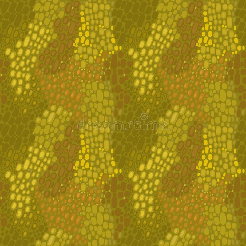Abstract pattern with stones. Brown and green colors on pattern vector illustration