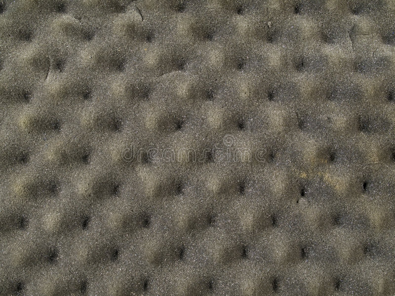 Brown Grey Foam Padding Texture stock images