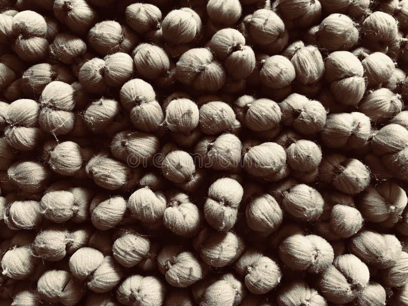 Brown Grey Furry Balls fotografie stock libere da diritti